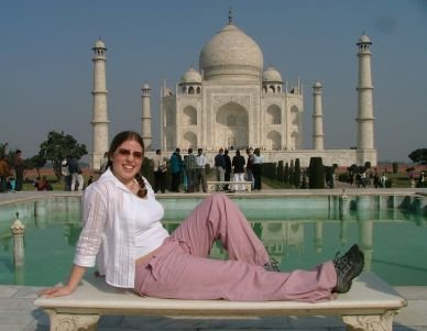 Natalie and the Taj Mahal